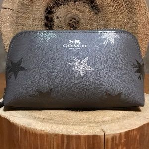 COACH Star Canyon Gray Cosmetic Bag